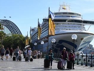 Ruby Princess cruise liner.