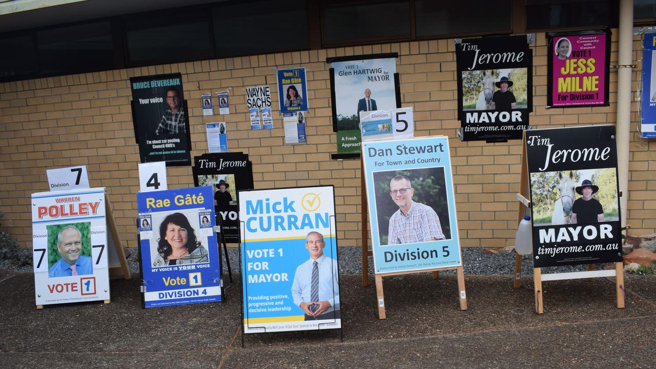 This former Gympie councillor shares where he thinks he went wrong in his bid for re-election.Photo: Philippe Coquerand