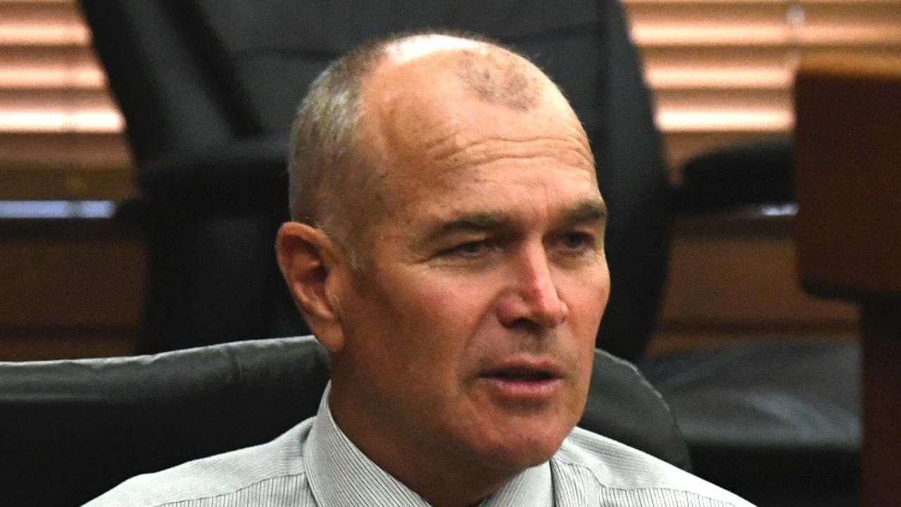 Deputy Mayor Bob Leitch is narrowly behind Warren Polley for the Division 7 seat. Picture: Shane Zahner