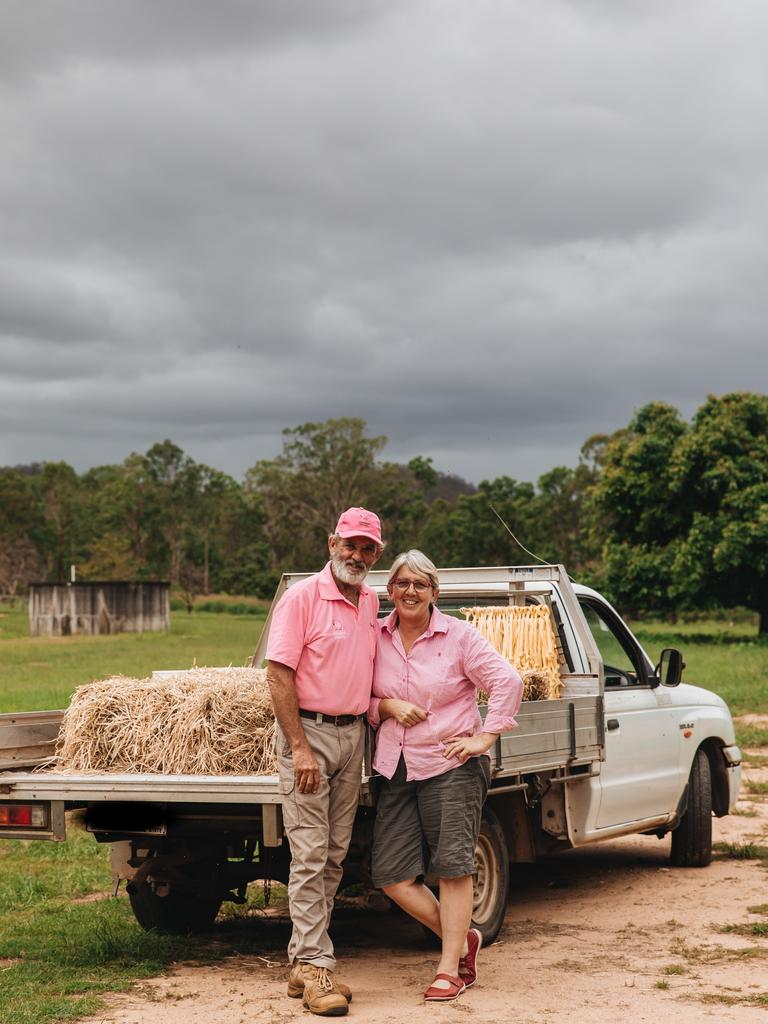 Dave and Di Pigott from Awassi Cheesery in Grantham. Photo: @mycolourfulworld