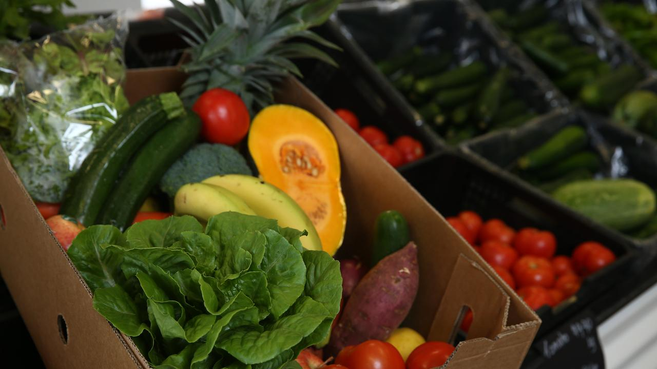 A box full of fresh fruit and vegetables at Farmgate 2 You. PICTURE: BRENDAN RADKE