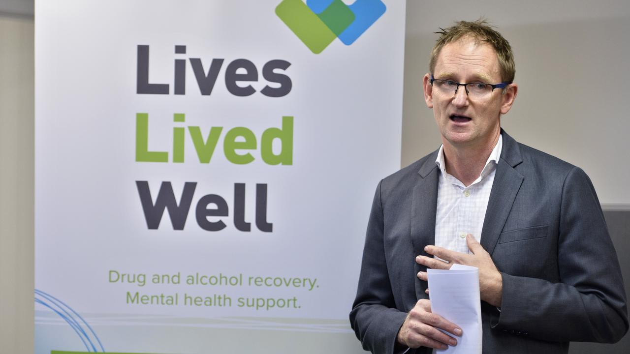 Lives Lived Well chief executive officer Mitchell Giles says the service will continue to provide free support to people throughout the duration of the virus outbreak. (Photo: FILE)