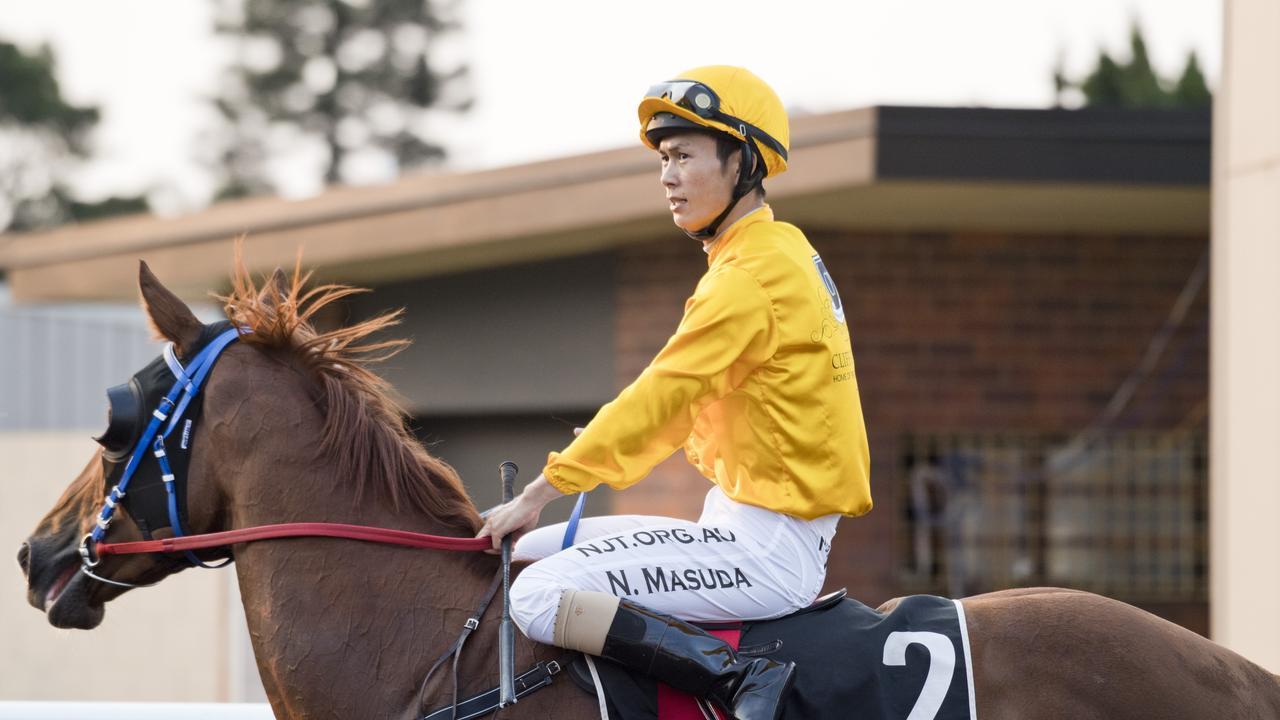 Jockey Noriyuki Masuda has four rides for Ballina trainer Ethan Ensby at Grafton tomorrow. Photo Nev Madsen