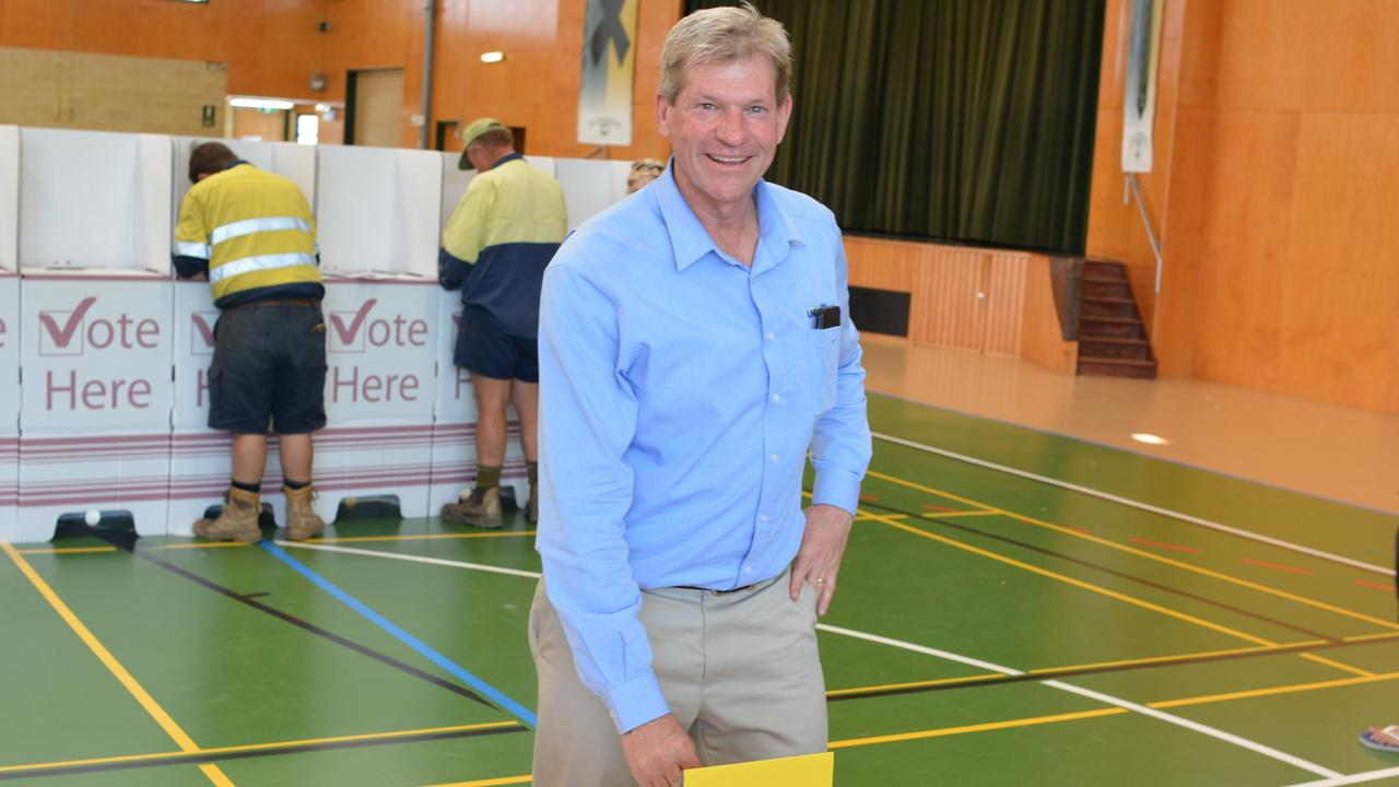 TIPS: Member for Lockyer and former councillor Jim McDonald had some words of advice for new and returning councillors.