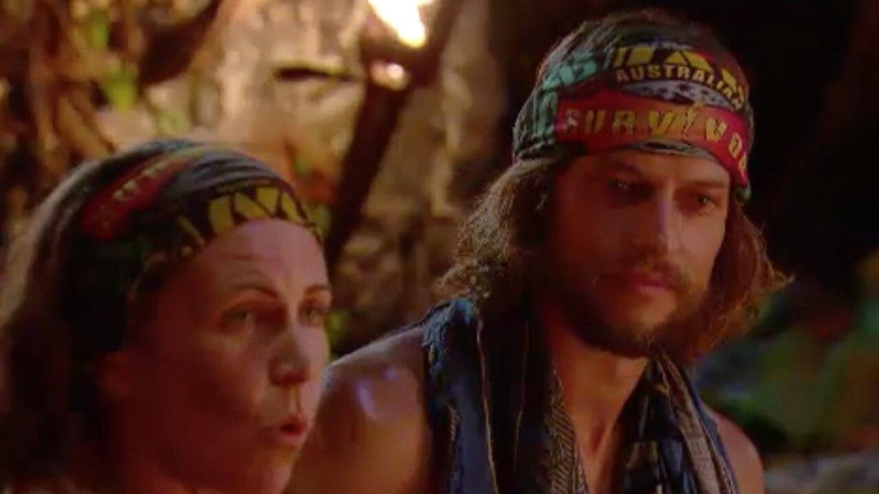 David and Sharn face the jury
