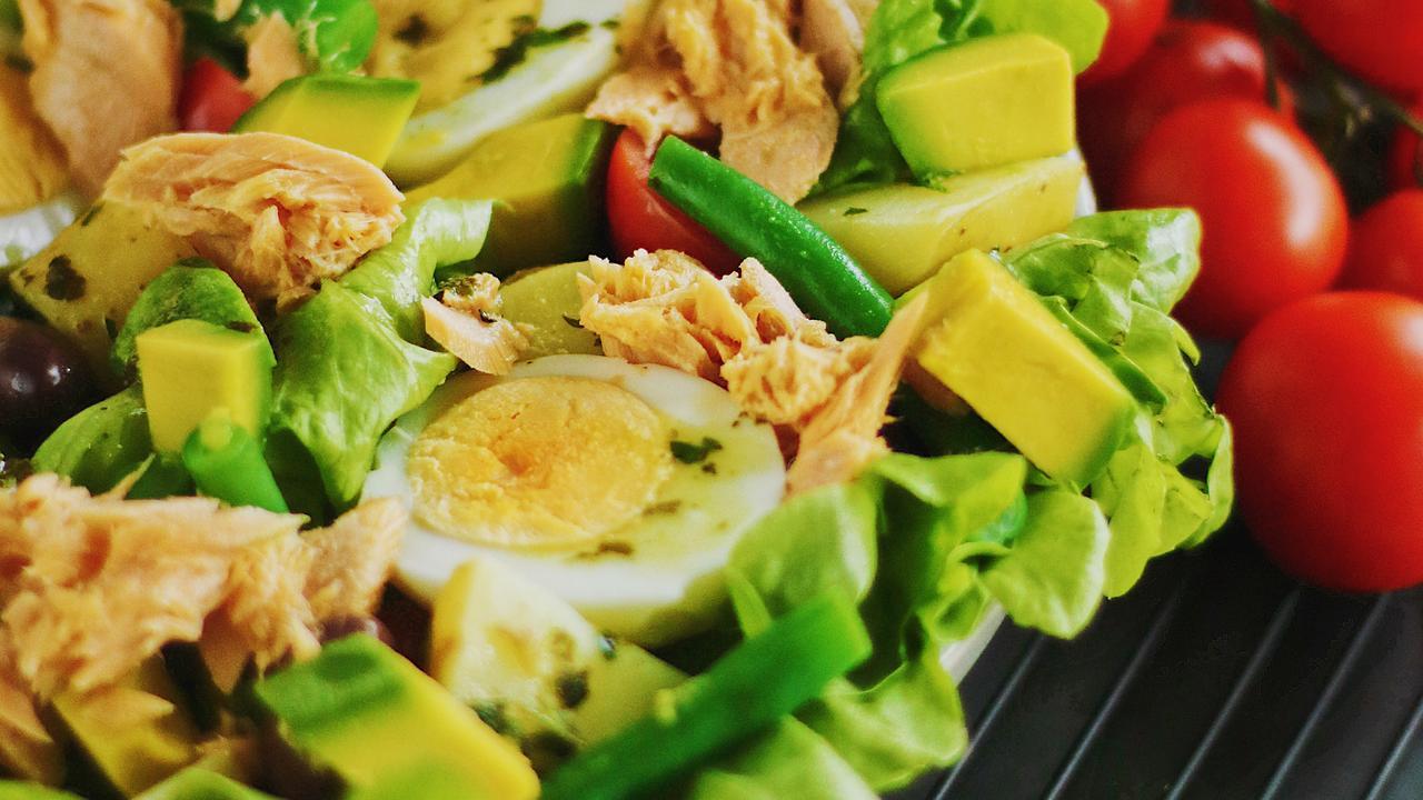 Laura Scherian's Salmon Nicoise Salad.