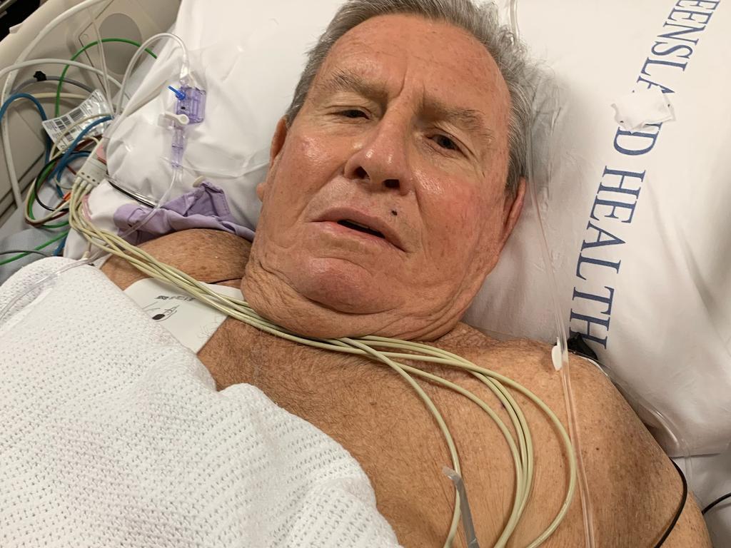 Caloundra man Jeff Aiken has praised the staff at Sunshine Coast University Hospital for the