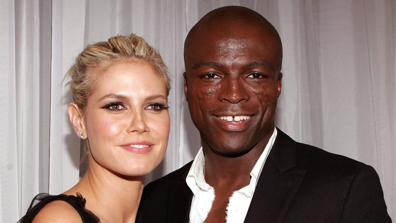 Klum and ex-husband Seal in 2004. Picture: AFP /Getty