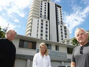 Residents fight plans for 18-storey building