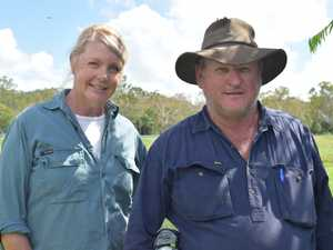 Finch Hatton graziers Jenni Waserman and Michael
