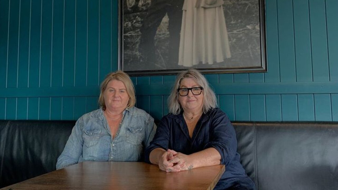 SORTED: Dingles Cafe Bar co-owners Sue and Carol Dingle are helping their young staff members through this tough time.
