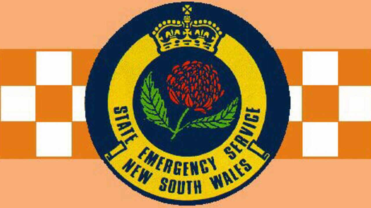 NSW State Emergency Service (SES) logo.