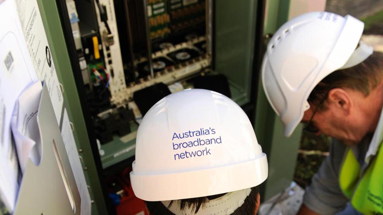 NBN Co: 95 per cent now completed.
