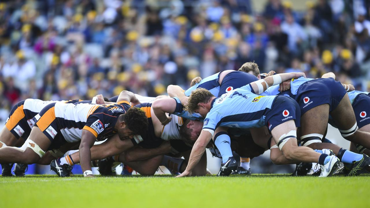 The Super Rugby season could be sacrificed. Picture: AAP
