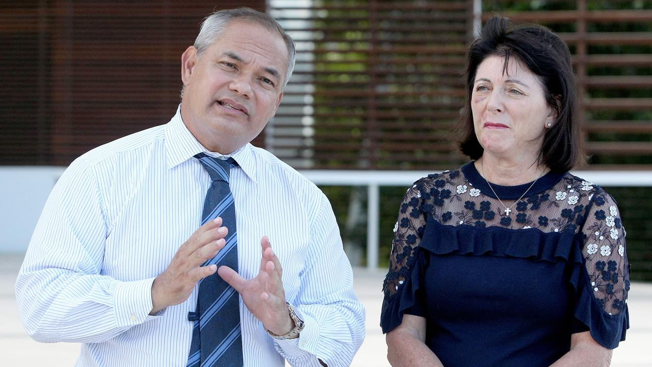 Mayor Tom Tate and his wife Ruth Tate. Picture: Mike Batterham