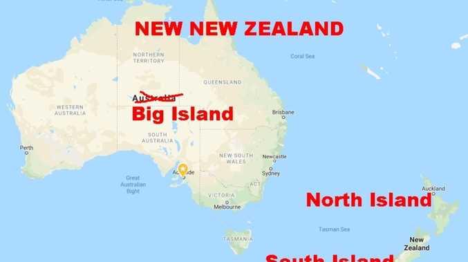 'Annex us': Aussies' hilarious plea
