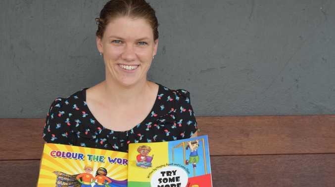 Mackay mum publishes motivating children's books