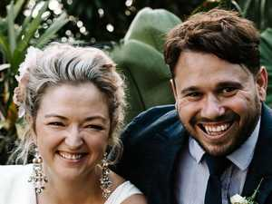 Couple's wild wedding plan 'the perfect distraction'