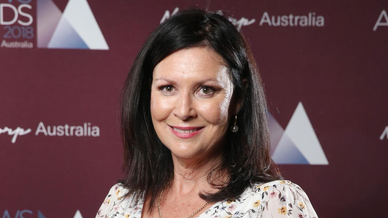 Shelley Strachan wins Achievements in Regional Journalism in Sydney. Picture: Richard Dobson