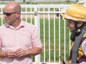 Double celebration for leading jockey and trainer