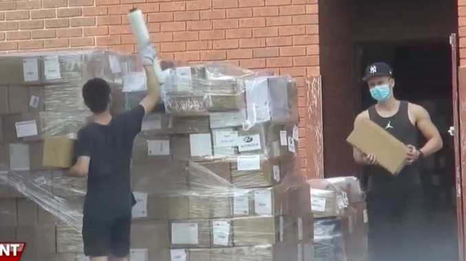 Aussie supplies being shipped to China