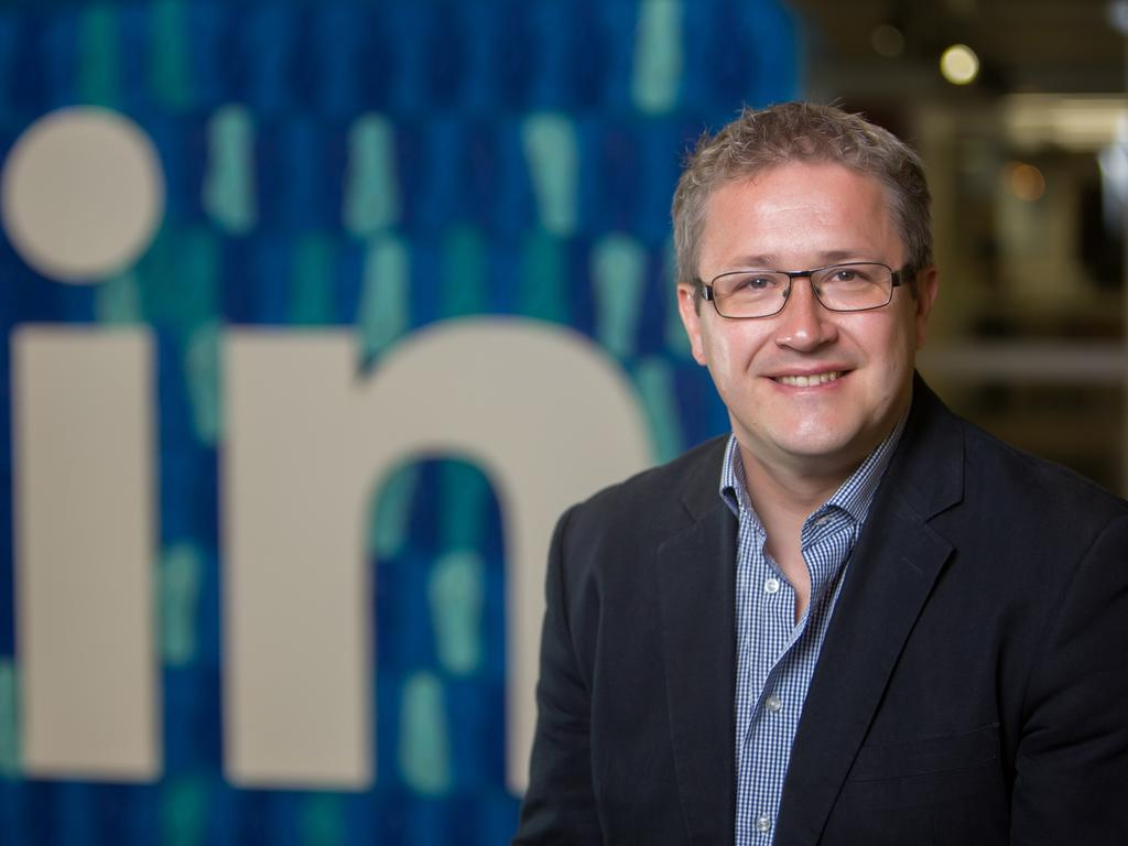 LinkedIn's Adam Gregory said businesses needed additional IT support to keep their systems running. Picture: Supplied