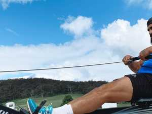Bush workout: A day in isolation with James Tamou