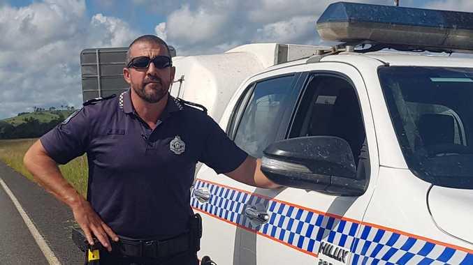Off-duty firey jumps in to help Imbil cop in violent arrest