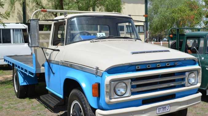 Lachie's passion for restoring old trucks