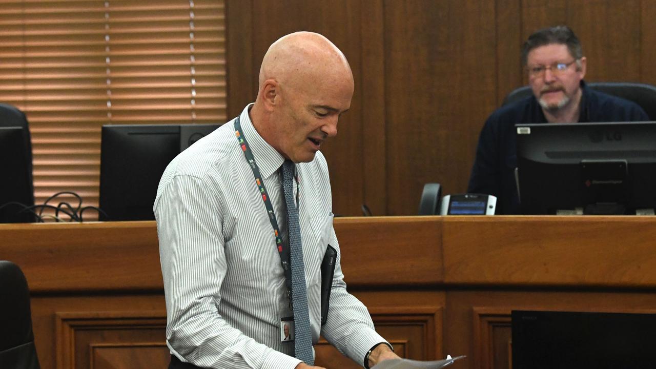 Council Meeting – Bernard Smith. Picture: Shane Zahner