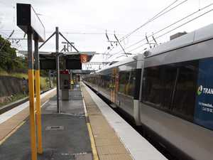 Young thugs corner man at a train station, beat, robbed him