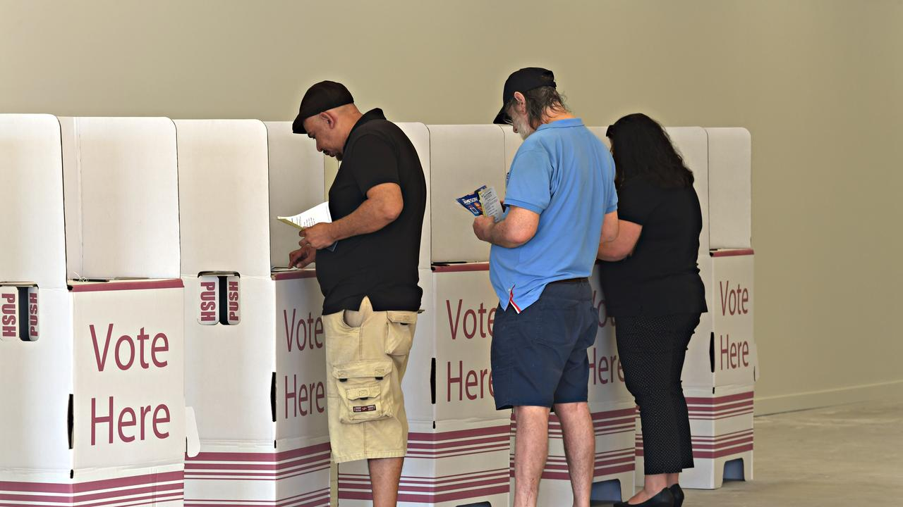 Early voting for the Sunshine Coast elections.