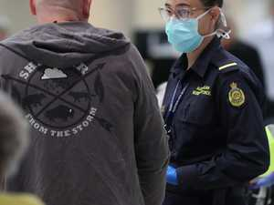 Two Border Force officers positive for virus