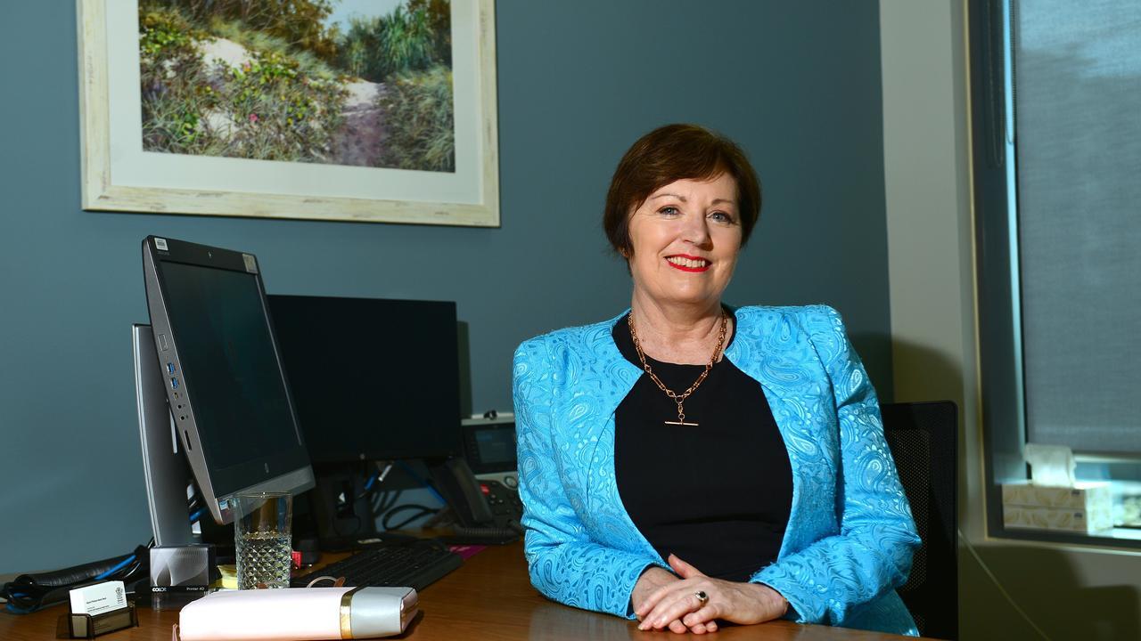 Chief Executive Sunshine Coast Health Service, Adjunct Professor Naomi Dwyer at the Sunshine Coast University Hospital.