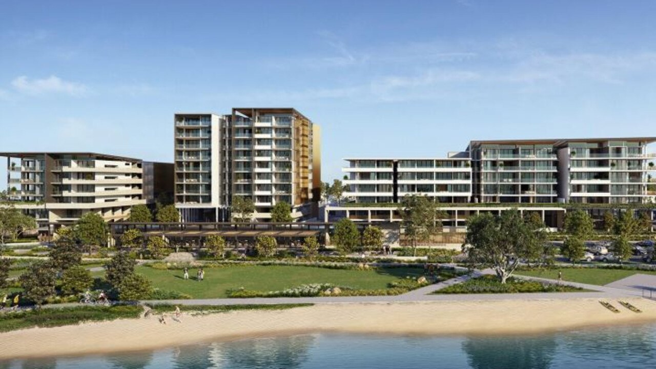 Plans lodged with Sunshine Coast Council reveal the scope of the $200 million Henzell Property Group development for Pelican Waters.