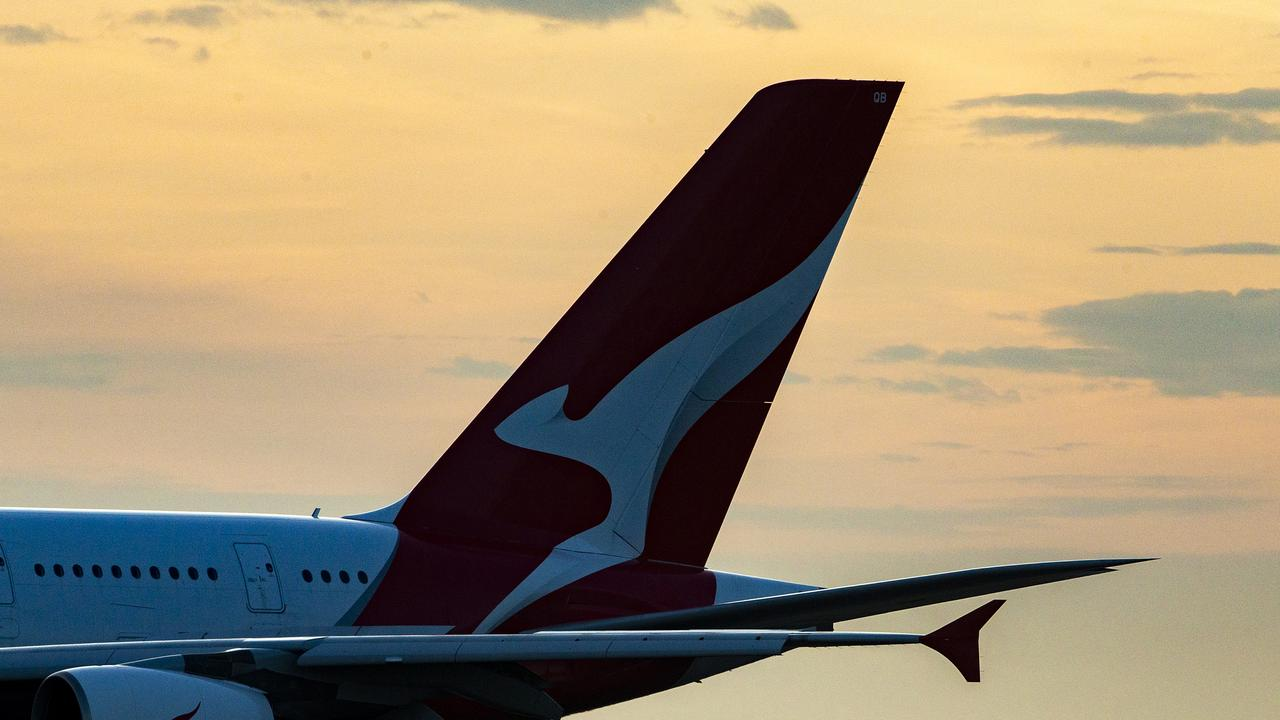 Qantas has grounded flights and stood down thousands of staff as a result of the pandemic. Photo: Jenny Evans/Getty Images