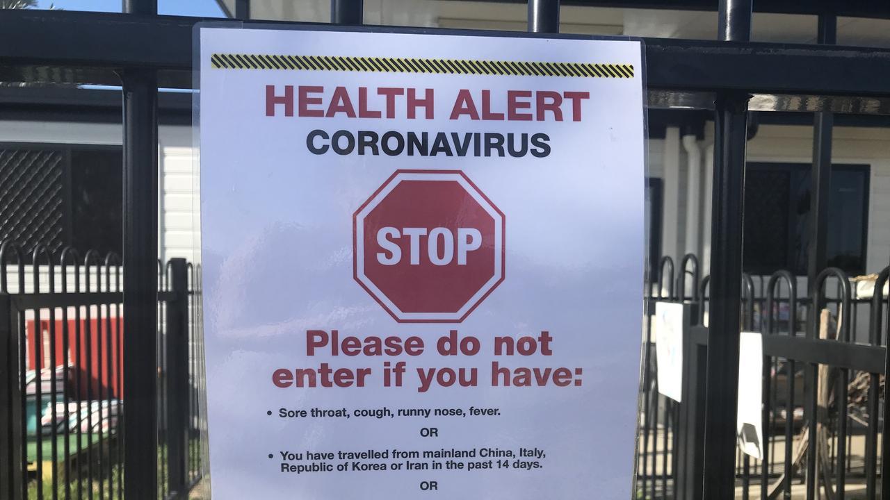 Generic pic warning of coronavirus