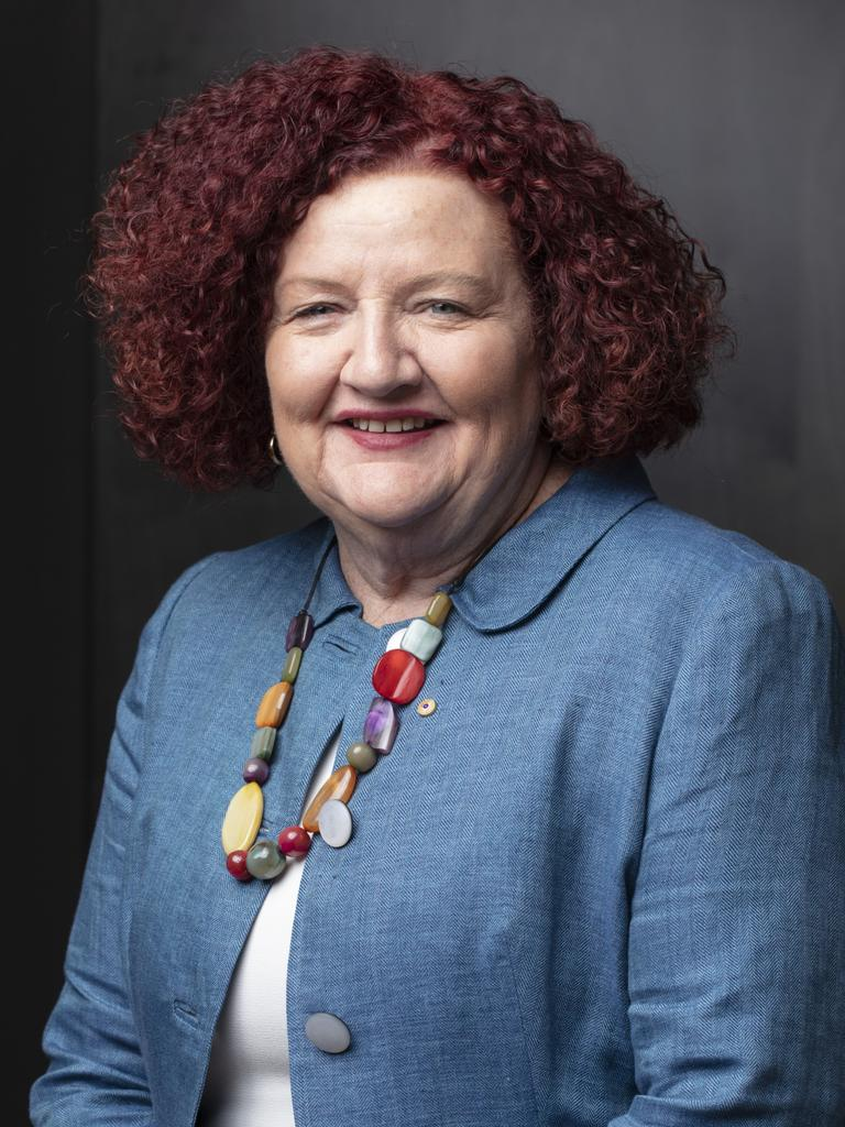 QUT vice-chancellor Margaret Sheil earned between $1.18 million and $1.19 million. Picture: Russell Shakespeare