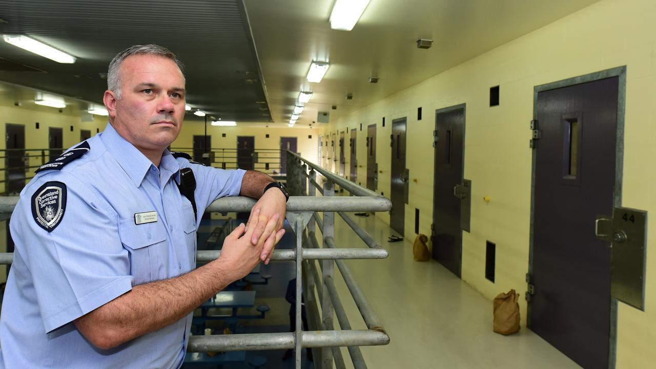 The general manager of Darwin Correctional Centre, Jon Francis-Jones, has been cross-examined in court about the conditions prisoners are living in amid the COVID-19 pandemic. Mr Francis-Jones is pictured at Townsville Correctional Centre. Picture: Evan Morgan