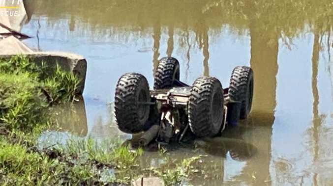 UPDATE: Boy 'crushed' in quad bike crash