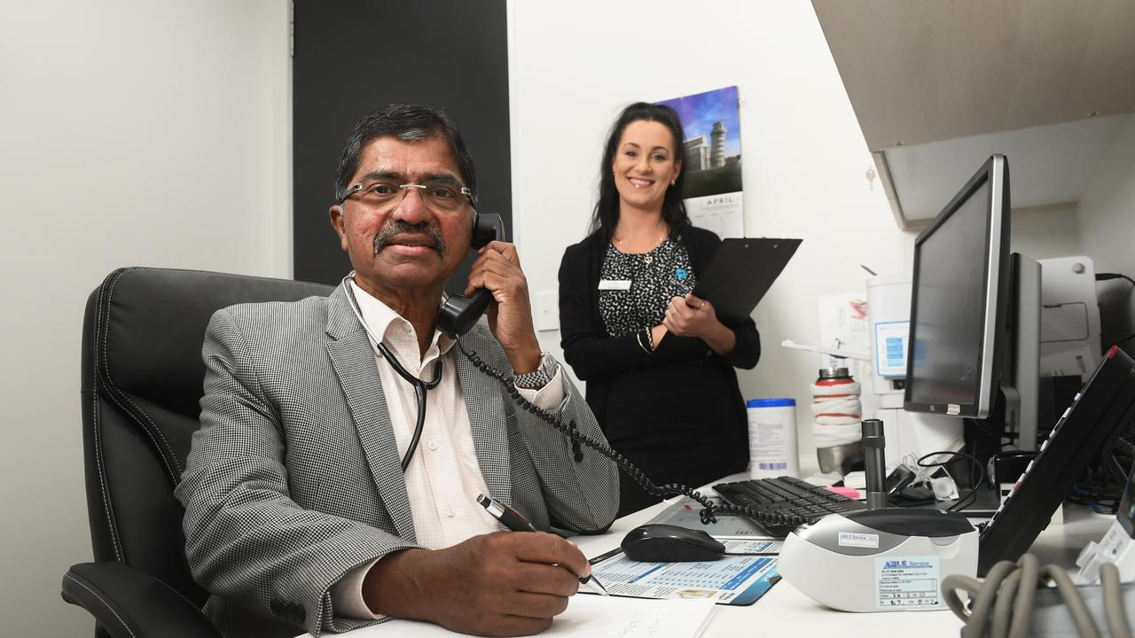 Dr Jacob Cherian and medical receptionist Tia Hall from Ipswich Medical Centre talk about Telehealth.