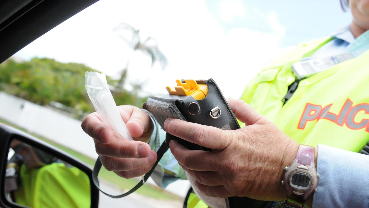 A drink driver was spotted swerving on the Dawson Hwy.
