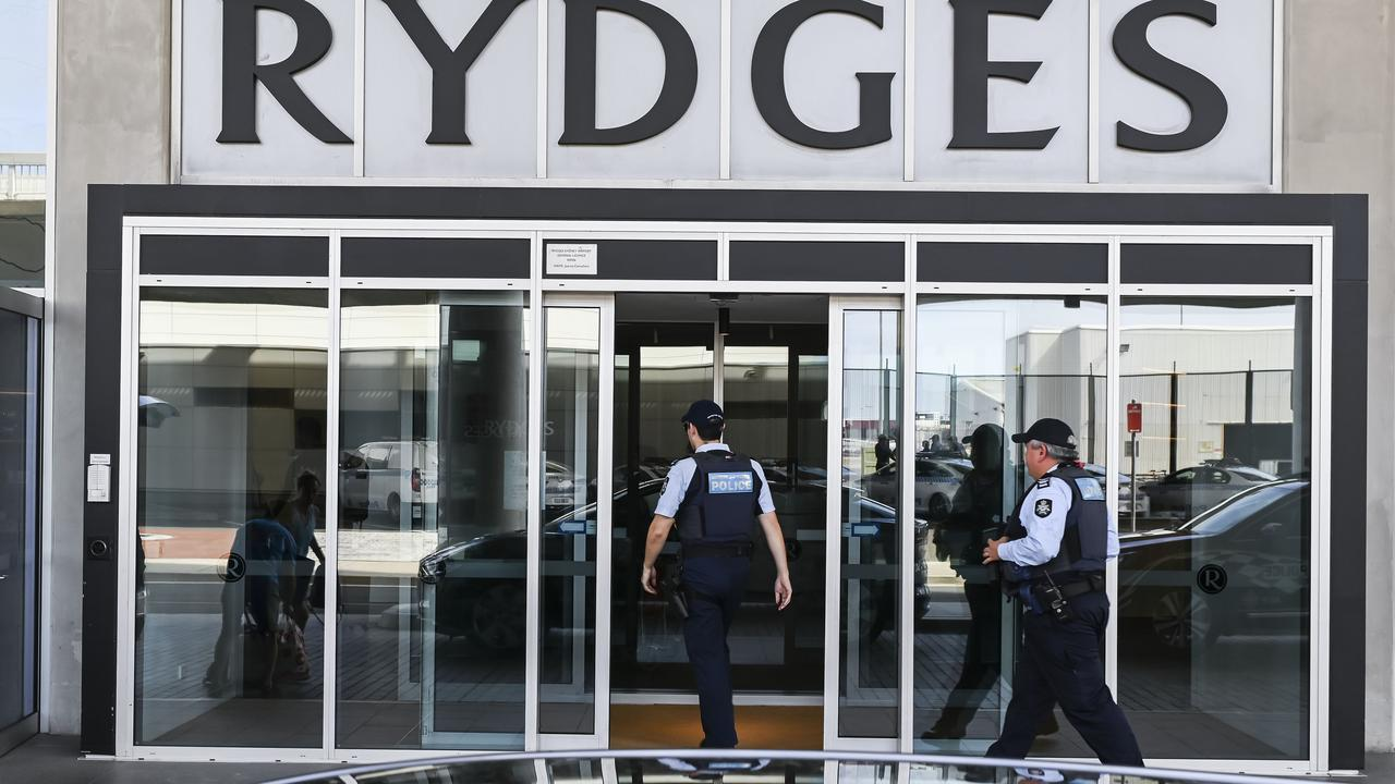 The doctors have been detained at Rydges Hotel, Sydney Airport. Picture: Darren Leigh Roberts