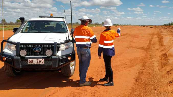 WATCH: Adani's impressive air strip takes shape