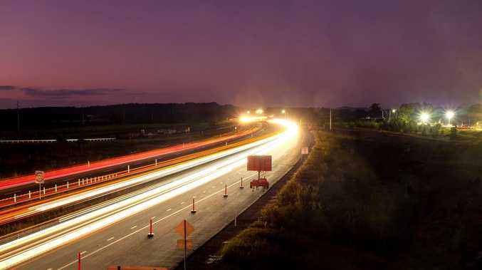 WATCH: Take your first drive over new highway section