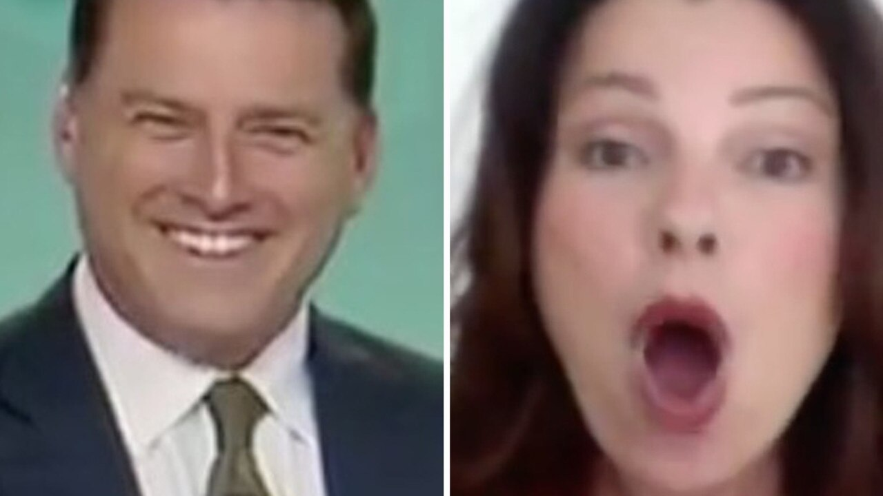 Karl Stefanovic was in stitches over an awkward interview with Fran Drescher on Today.