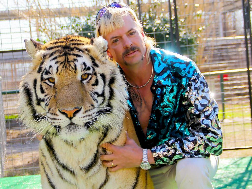 Joe Exotic in a scene from Tiger King: Murder, Mayhem and Madness. Picture: Netflix