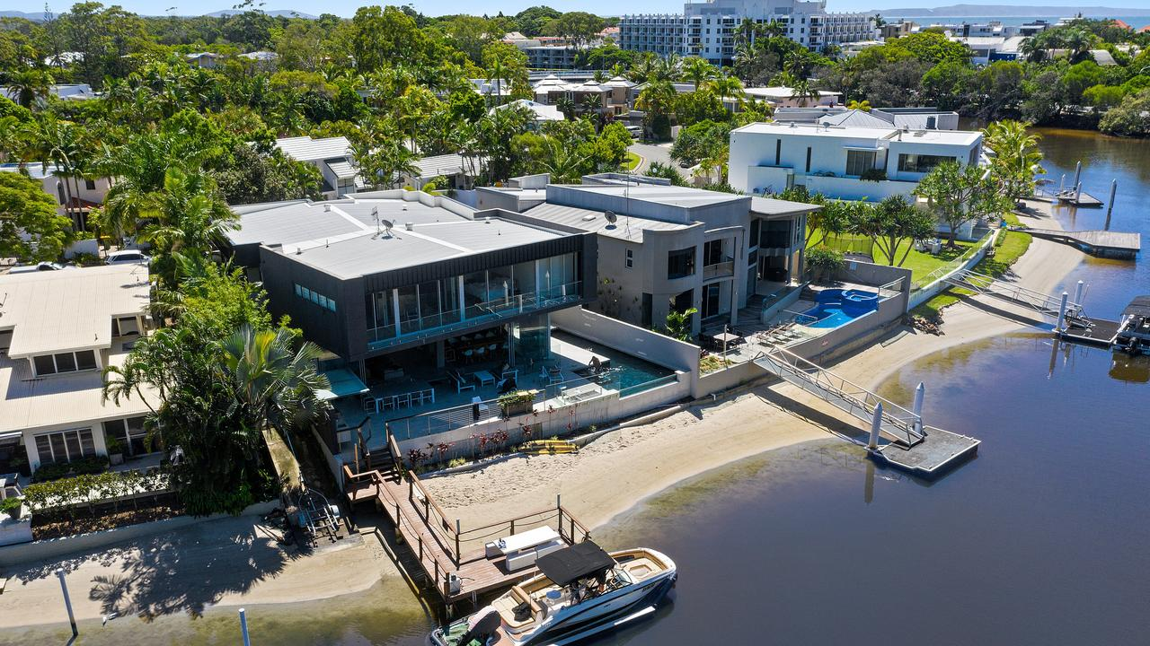 This Noosa waterfront home, which was purchased as a bare block for $12,000 in 1974, has sold for $10m.