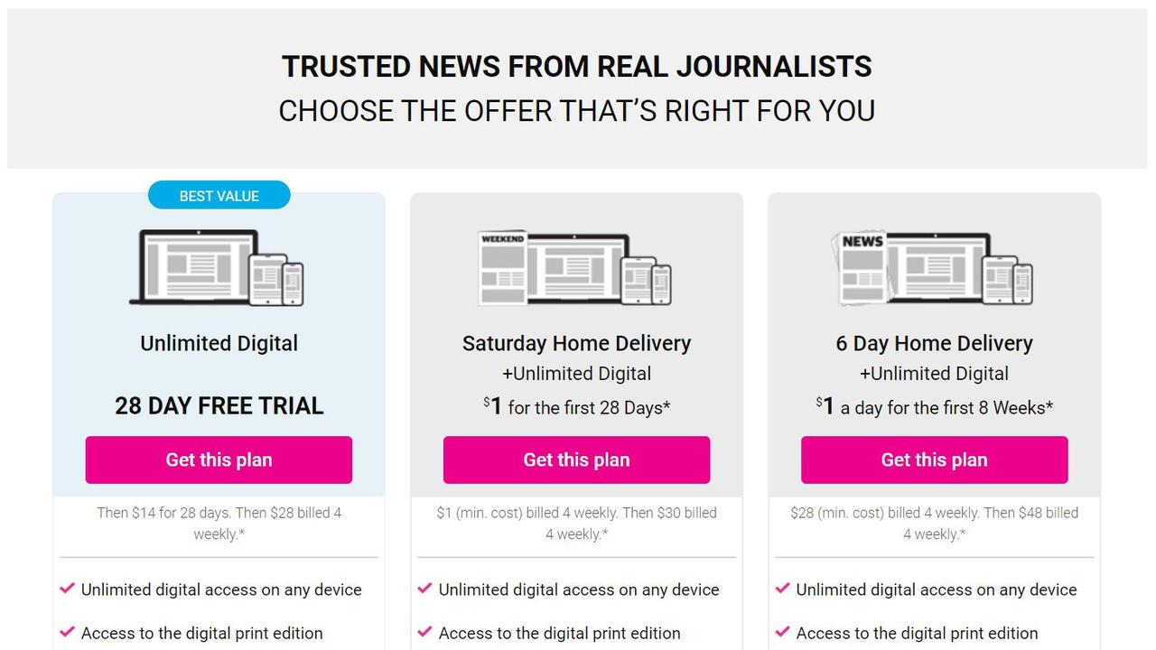 Start your free trial today.