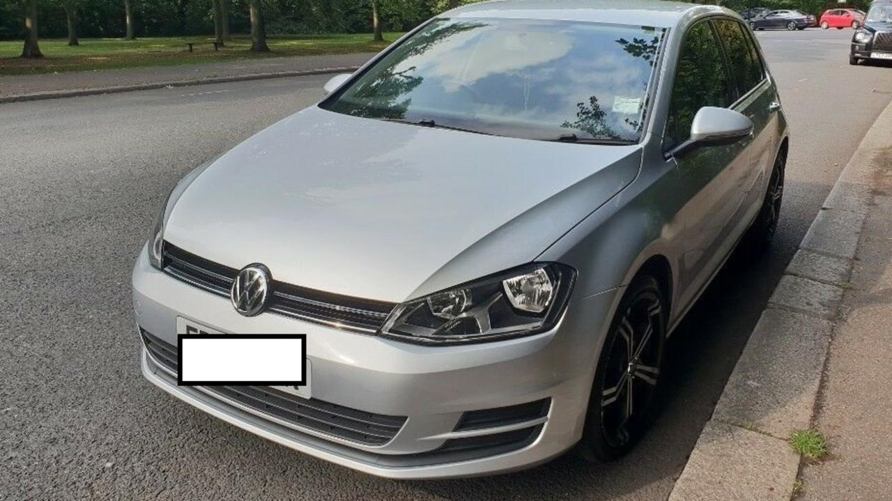 STOLEN: A silver 2013 VW Golf (like the one pictured) has been stolen from Noosaville.